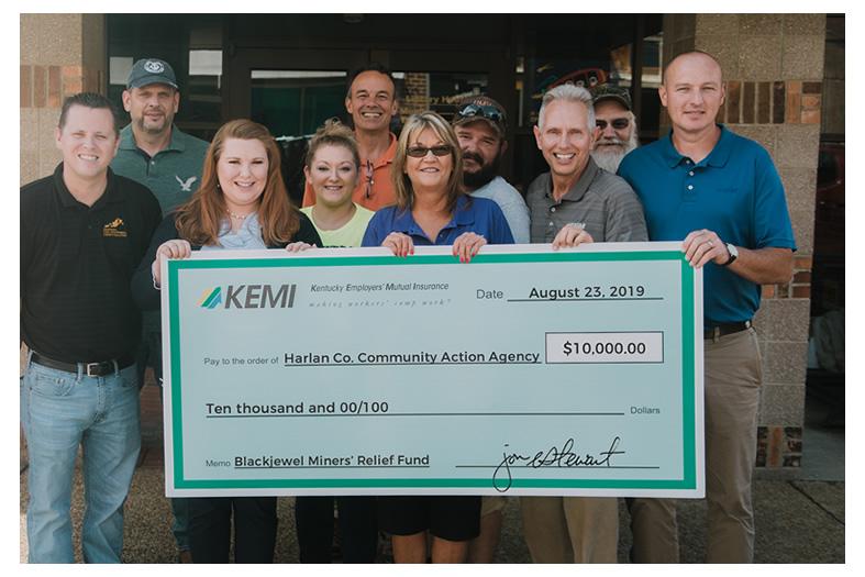 KEMI Check Donation 2019